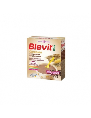 Blevit Plus Trocitos Cereales y Pepitas Chocolate 600gr