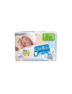 Chelino Pañal Fashion Love T3 4-10 Kg 36uds