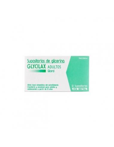 Glycilax Adultos Supositorios Glicerina 12uds