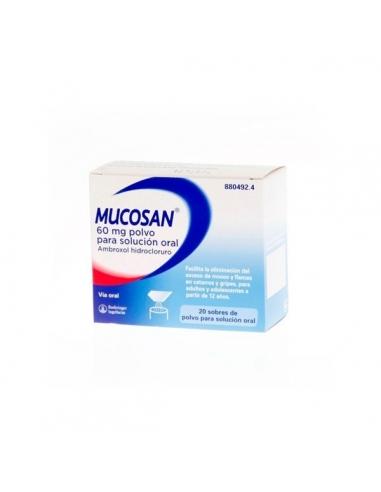 Mucosan Sobres 20x60mg
