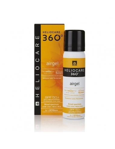 Heliocare 360º Airgel SPF50 200ml + Gel Facial 25ml