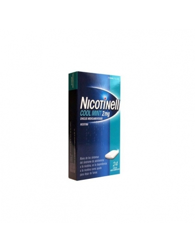 Nicotinell Mint Chicles 2mg 24uds