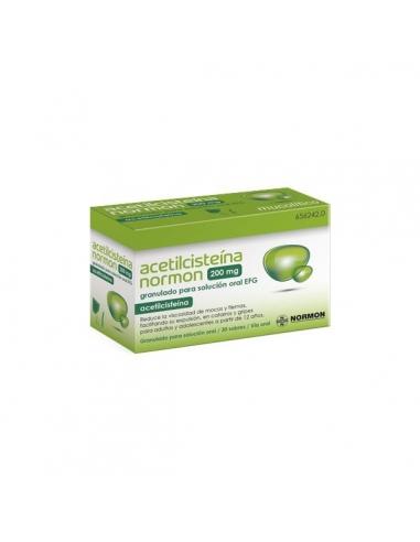 Normon Acetilcisteína Sobres 30x200mg Efg