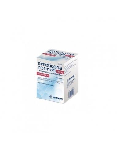 Normon Simeticona Comprimidos 40x120mg