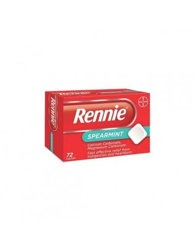 Rennie Con Sacarina Comprimidos Masticables Menta 48uds