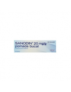 Sanodin Pomada Bucal 20mg