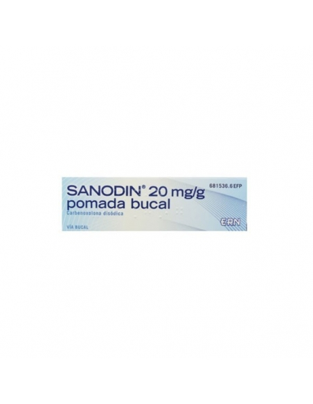 Sanodin Pomada Bucal 20mg