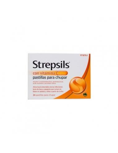 Strepsils Vitamina C