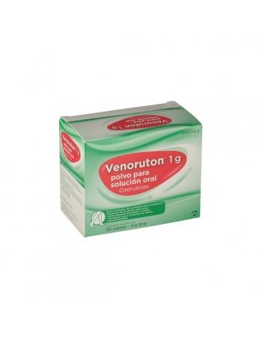 Venoruton 1000 Sobres Naranja 30uds