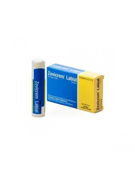 Zovicrem Labial Bomba Dosificadora 2gr