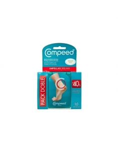 Compeed Ampollas Hidrocoloide Talla Mediana Pack 2X10 uds