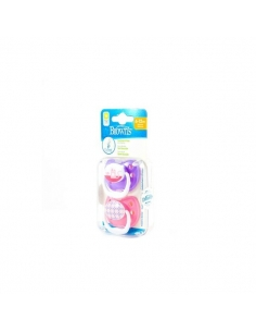Dr Browns Chupo Silicona Prevent Dibujos 6-12meses 2 uds