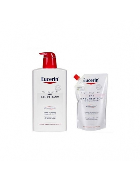 Eucerin PH5 Gel de Baño 1L + 400 ml