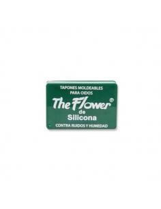 Flower Tapón Oídos Silicona 6uds