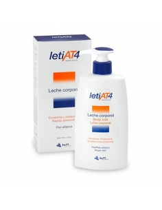 Leti At 4 Leche Corporal Dosificador 250ml