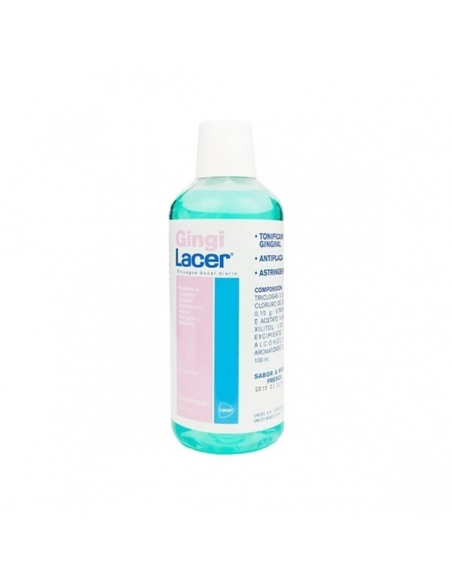 Lacer Gingilacer Colutorio sin Alcohol Menta 500ml