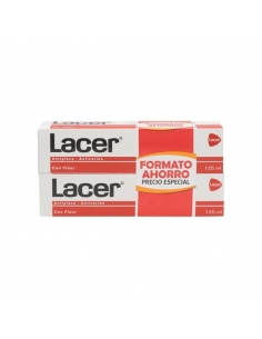 Lacer Pasta Duplo 2x125ml