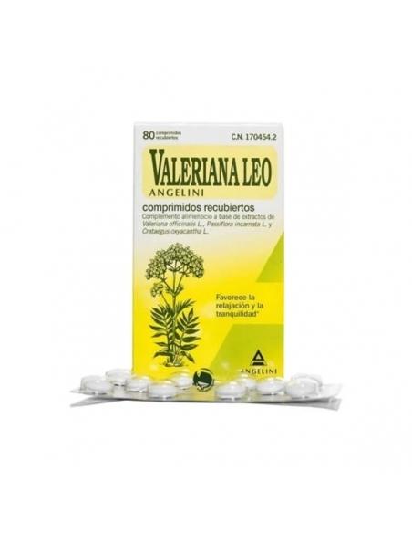 Leo Valeriana Comprimidos Recubiertos 80uds