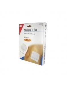 Medipore+Pad Apósitos 10x10cm 10uds