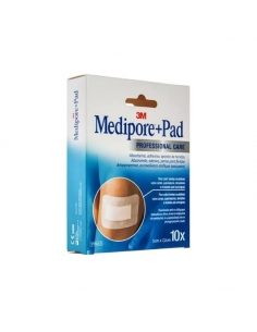 Medipore+Pad Apósitos 5x7.2cm 10uds
