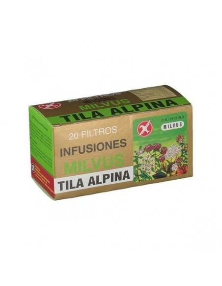 Milvus Tila Alpina Infusión 20uds