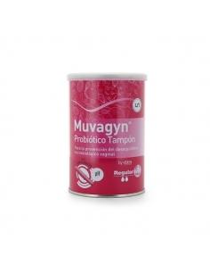 Muvagyn Probiotico Tampón Aplicación Regular 9uds