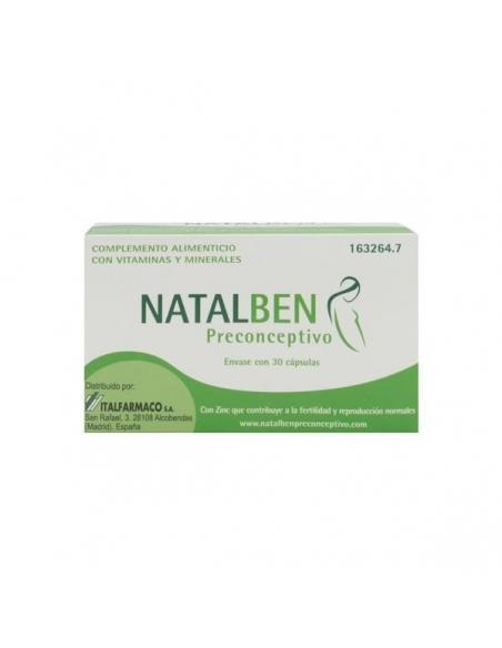 Natalben Preconceptivo Cápsulas 30uds