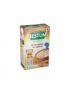 Nestlé Nestum Expert 8 Cereales Galleta Bifidus 600g