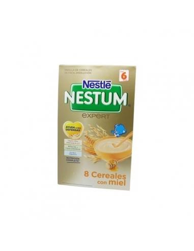 Nestle Nestum Expert 8 Cereales Miel Bifidus 600gr