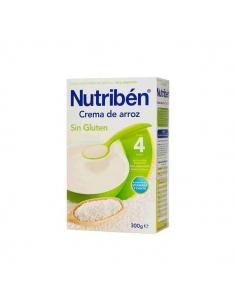 Nutriben Papilla Crema Arroz Sin Gluten 300gr