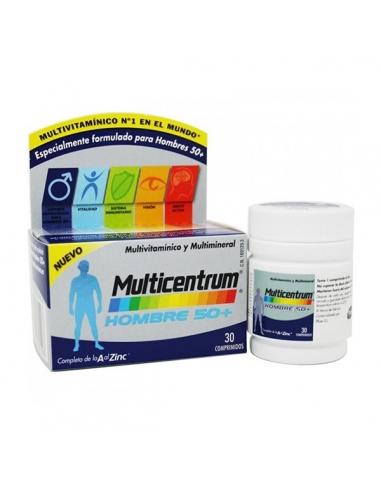 Multicentrum Hombre 50+ Comprimidos 30uds