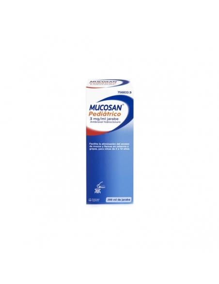 Mucosan 15mg/5ml Jarabe Pediatrico 200ml