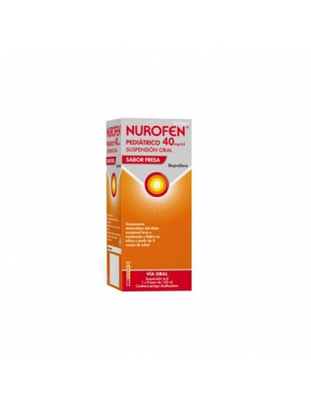 Nurofen Pediatrico 40mg/ml Susp 150ml