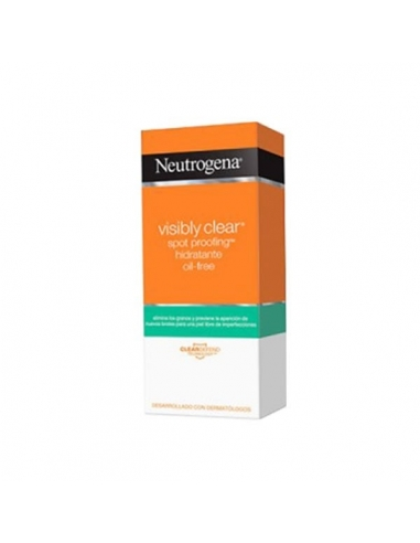 Neutrogena  Visible Clear Spot Proofing Hidratante Oil Free C