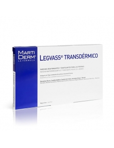 Martiderm Legvass Parche Transdermico Reafirmante Piernas 14 uds