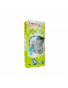 Pañal Freelife Bebé T-5 44uds