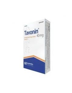 Tavonin 40mg 60 Comprimidos