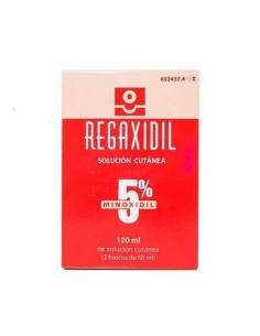Regaxidil 50 mg Solución Cutánea 2x60ml