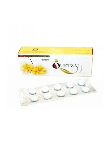 Quetzal 300mg 60 Comprimidos