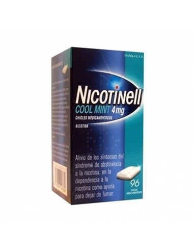 Nicotinell Mint 4mg 96  Chicles