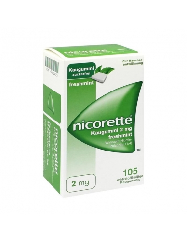 Nicorette Freshmint 2mg 105 Chicles