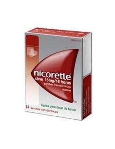 Nicorette Clear 15mg/16H 14 Parches