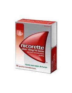 Nicorette Clear 10mg/16H 14 Parches