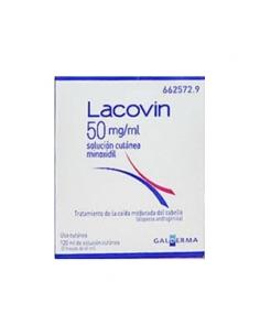 Lacovin 5% Solucion Cutánea 2x60ml