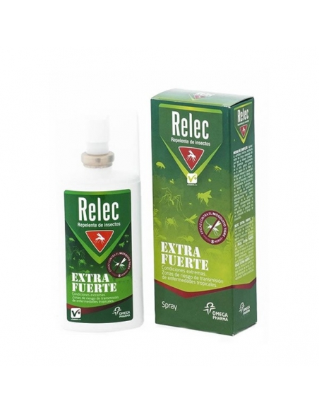 Relec Extra Fuerte Repelente Insectos Spray 75ml