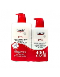 Eucerin Loción Sensitive 1l+Ecopack 400ml