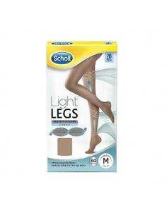 Scholl Panty Light Legs 20 Beige Talla M