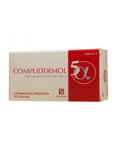 Complidermol 5 Alfa Cabello 60 Cápsulas