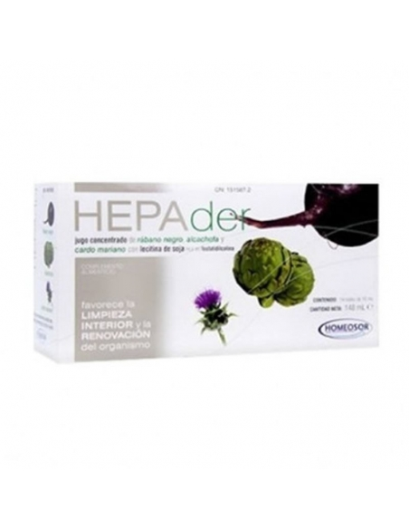 Hepader Oral Viales 14x10ml