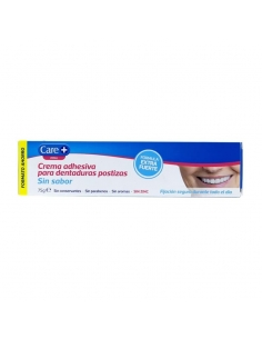 Care + Crema Adhesiva Neutra 75gr